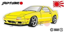 Mazda-RX-7-series-4   - Yellow with Factory Rims - JDM - JapTune Brand
