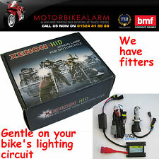 Motorcycle Motorbike Bike HID H4 Bi Xenon light kit 6000K white or 8000K blue