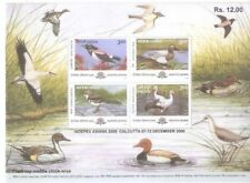INDIA 2000 Migratory Birds Ducks Indepex Asiana Miniature sheet