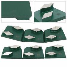 9pcs Diamond Concrete Grinding Discs Metal Bond Pads For Concrete Lavina Grinder