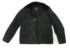 Barbour International Steve McQueen SANFORD Waxed Wax Jacket Navy Small S 38