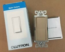 Lutron Satin Colors SC-1PS-MS 15 A Single Pole Switch. (Mocha Stone)