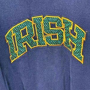 Vintage Notre Dame Fighting Irish Team Edition Apparel Mens XXL Sweatshirt Crew