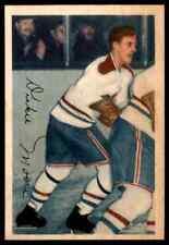 1953-54 PARKHURST JAMES DICKIE MOORE ORIGINAL MONTREAL CANADIENS #28