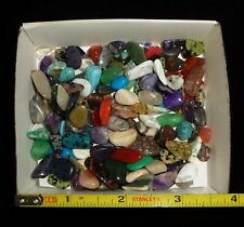 100gr. Lot ASSORTED WIZARD MIX POLISHED STONES, Brazil