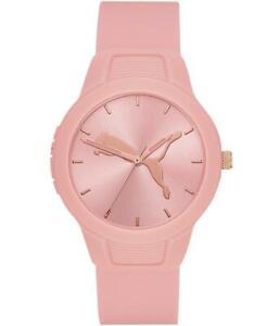 Orologio Donna PUMA RESET V2 P1023 Silicone Rosa Sportivo Colorato NEW