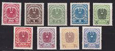 Österreich 1920/21 ANK.Nr.: 312x-320x pf**siehe Bild >