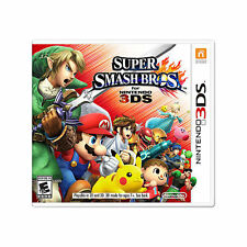 Factory SEALED New SUPER SMASH BROS Game for Nintendo 3DS Same Day FAST Shipping