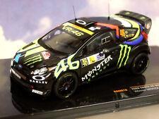 IXO 1/43 FORD FIESTA RS WRC #46 WINNER MONZA RALLY 2012 VALENTINO ROSSI RAM618