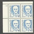 2188A CUSHING OVERALL TAGGED  PLATE BLOCK MINT NH