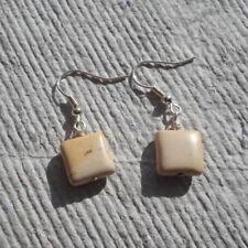 Handmade Earrings ~ Mookaite Square