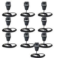 4-Pin CB Radio Microphone Speaker MIC for Cobra PR240 PR550 Two Way Radios 4PCS