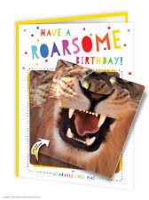 Tarjeta de saludos de cumpleaños Caramelo BrainBox & Divertido Novedad Cheeky Estera de cara Niños Diversión