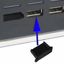 4Stk. USB Stopfen Staubschutz USB Buchse Typ A schwarz #a912