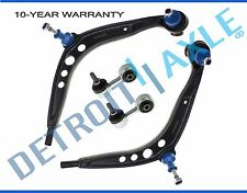 New 4pc Set: Lower Control Arms + Ball Joints + Sway Bar Links for BMW 3 Series