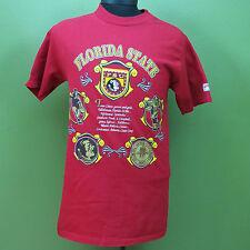 NCAA Florida State Seminoles All Sports and School Seal T-Shirt Medium Red Wine
