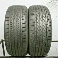 Two Used 215/55R17  2155517 Goodyear ASSURANCE Fuel Max 7-7.5/32 J372