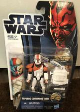 Star Wars Clone Republic Commando Boss Delta Squad Sergeant Hasbro Figure