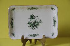 Seltmann Weiden Wien Grüne Rose Butterplatte Platte 18,5 x 13 cm     26493