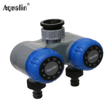 Dual-outlet Two Outlet Mechanical Hose Faucet Water Timer Garden Irrigation