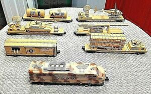 One of a Kind Pro Painted Lionel Diesel+6 K-LINE OPERATION IRAQ FREEDOM TrainSet