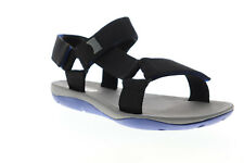 Camper Match 18824-046 Mens Black Canvas Strap Sport Sandals Shoes