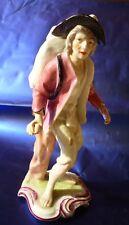 Antica statuina ceramica Paris porcelain porcellana francese