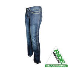 Pantalon bleu pour motocyclette Femme