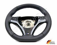 Bmw 3er e92 e93 m performance sport volante aplanada volante de cuero nuevo refieren