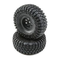 Losi LOS43012 Maxxis Creepy Crawler LT Mounted Tire / Wheel Set (2) Rock Rey
