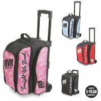 Bowling Ball Tasche DV8 Double Roller Freestyle Bag Platz für Bowlingschuhe