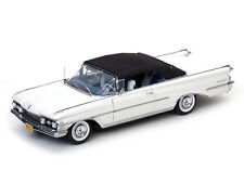 "SUN STAR 1/18 SUN5233 OLDSMOBILE 98 CABRIOLET 1959 BLANCHE ""PLATINUM Collection"""