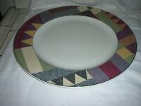"Mikasa Studio Nova ""Palm Desert"" Y 2216  12 5/8"" Platter, Chop Plate  EC"