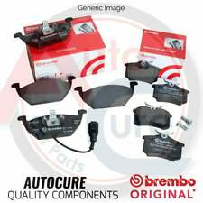FORD FOCUS 1.6 2004-2012 FRONT & REAR BREMBO BRAKE PADS BRAND NEW