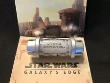 White Kyber Crystal From Disney Star Wars Galaxys Edge...