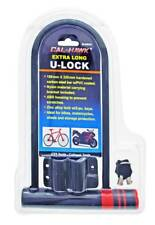 "Bike Motorcycle Bicycle U Lock HEAVY DUTY Anti Theft Extra Long 12.5"" x 7"" NEW"