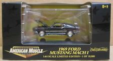 Ertl Collectibles 1969 Ford Mustang Mach 1 1:64 Scale 32329 NIB