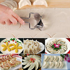 Dough Press Dumpling Maker Mould Pie Ravioli Cooking Pastry Tool Stainless Steel