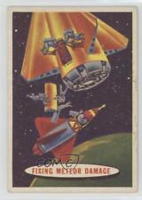 1957 Topps Space Cards #27 Fixing Meteor Damage Non-Sports Card 0s4