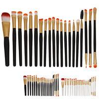 20pcs Kabuki Style Professional Make up Brush Set Foundation Blusher Face Powder