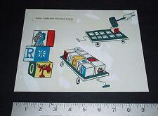 1960's Rocky & Bullwinkle Concept Art - Character Blocks - Jay Ward