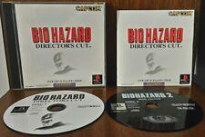 USED PS1 PS PlayStation 1 bio-hazard Director's Cut