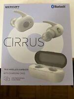 Merkury Innovations Cirrus White True Wireless Earbuds With Charging Case