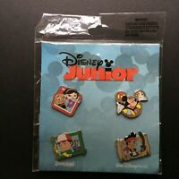 Disney Junior Booster Set Collection June Leo Handy Manny Jake Mickey Pin 85850