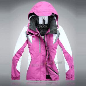 Women's Girl Winter Coat Pants Sport Ski Suits Jacket Snowboard Outdoor Travel