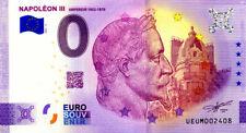 63 CLERMONT-FERRAND Napoléon III, 2021, Anniversaire, Billet Euro Souvenir