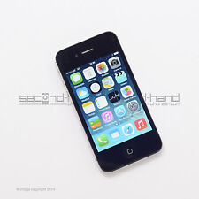 "Apple iPhone 4s 8GB - Black - (Unlocked / SIM FREE) - 1 Year Warranty -""Grade A"""