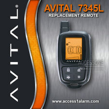 Avital 7345L 2-Way LCD Replacement Remote Control For Avital 5305L or 3305L