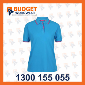 Jb's Ladies Contrast Polo (2nd Colors) (2LCP)
