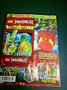 LEGO Ninjago Magazine Issue 72 With  Mini-Figure Burst Mode Lloyd 2021